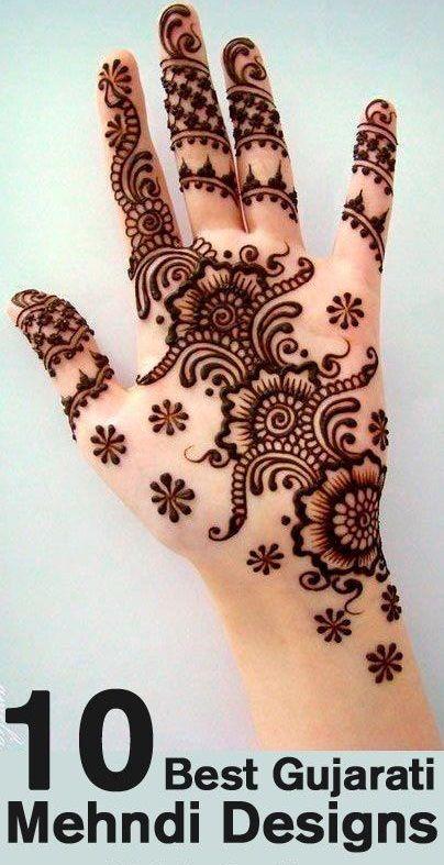 Top 10 Best Gujarati Mehndi Designs