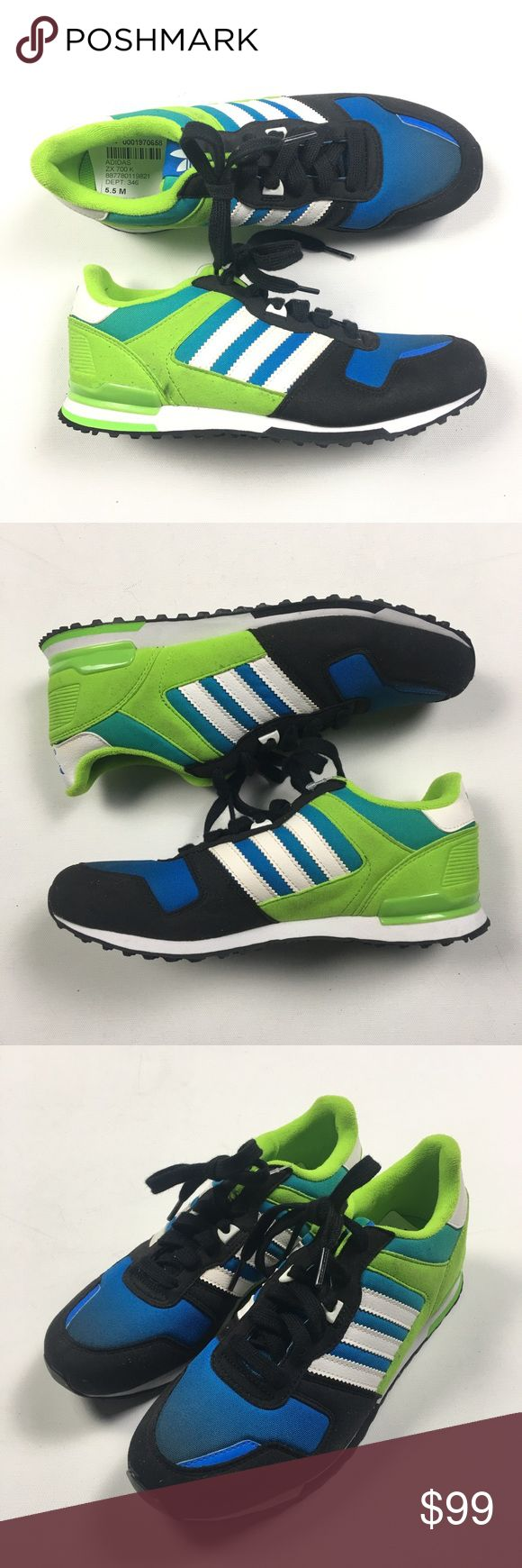 Adidas ZX 700 Sz L5.5 R4.5 MISMATCH Shoes Brand new. Mismatched sizing. L5.5 R4.5. Discounted AF. adidas Shoes Sneakers