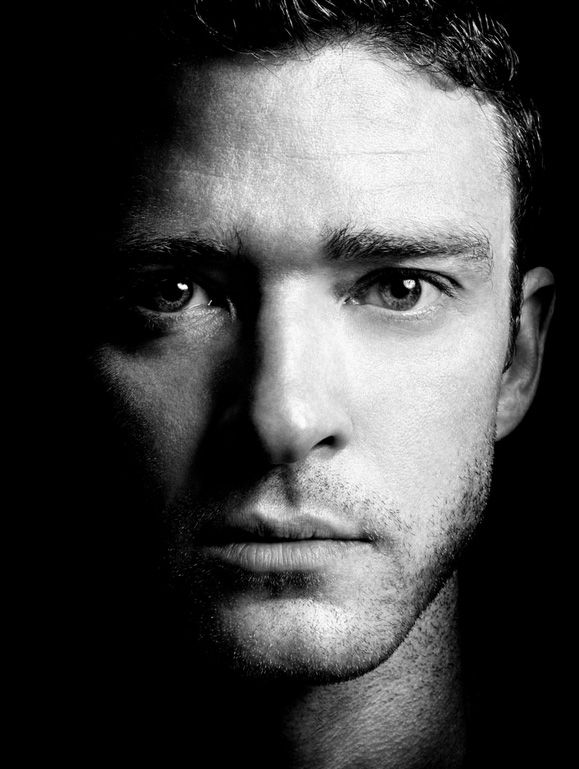 Justin Timberlake (1981) - American singer, songwriter and actor. Photo © Platon