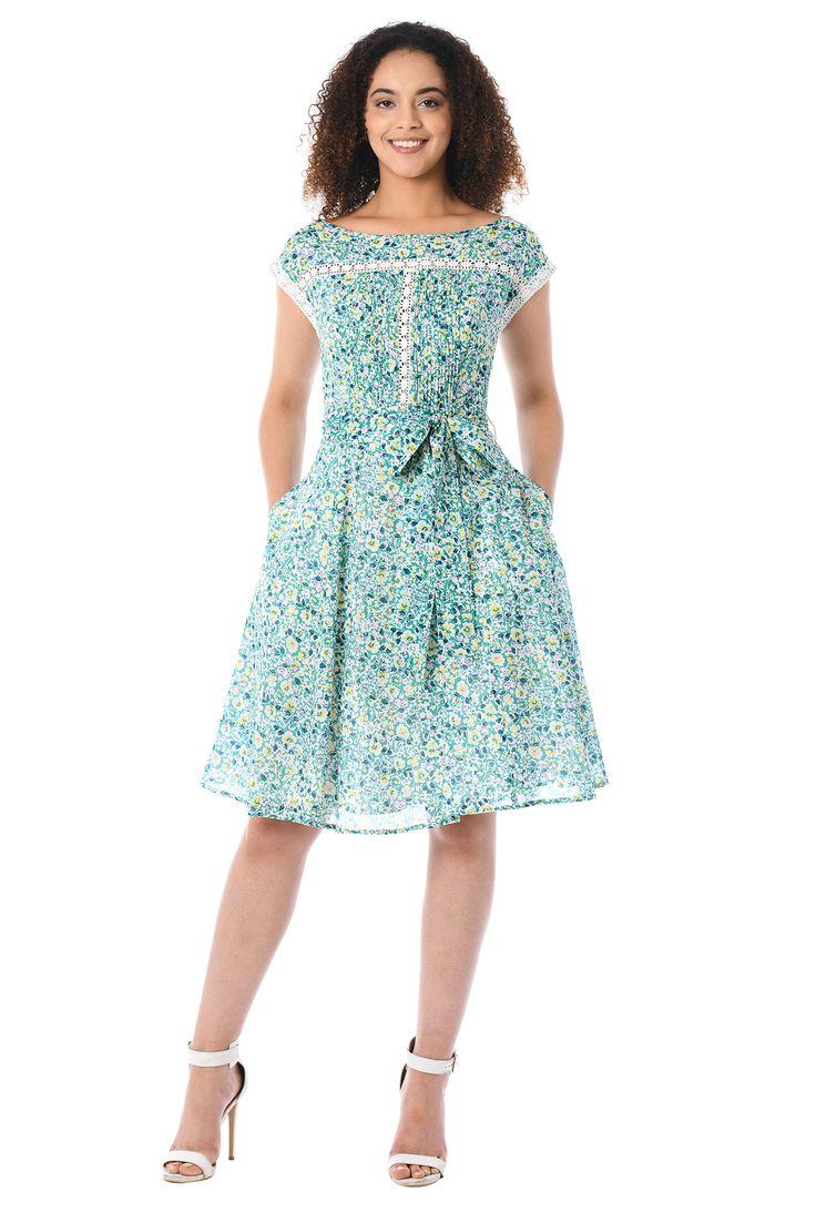 платье из ситца сексуальное - 8
