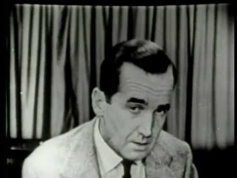 Edward R. Murrow quoting Shakespeare as an example of using testimony to support a claim.