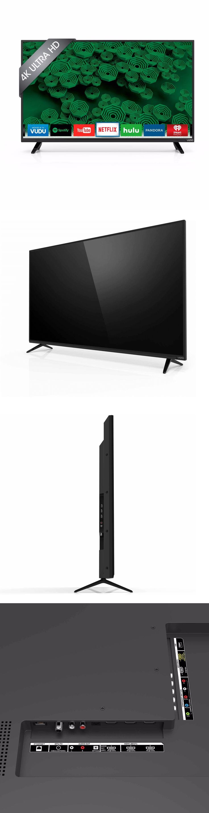 Televisions: Vizio Led D40u-D1 40 Inch Smart 4K Ultra Hd Tv 2160P 120Hz D-Series Full Array BUY IT NOW ONLY: $345.0