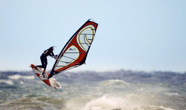 Surf Club Albatross, in Loutsa, Attica
