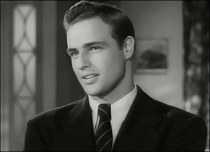 Why can't men look like Marlon Brando in real life? Or any man in a classic movie for that matter.