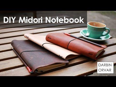 How to Make Beautiful Midori-Style Traveler's Notebooks | Make: