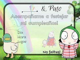 Invitaciones de Sara & Pato