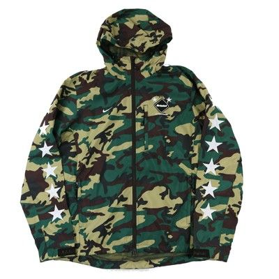 Nike FCRB Camo Practice Jacket 200