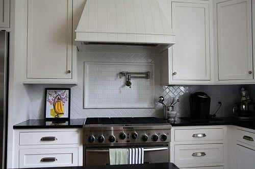 IKEA adel Kitchen / Subway Tile