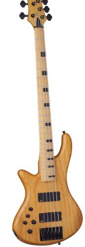 Schecter 2855 Session Stiletto-5 ANS Left Handed Bass Guitars >>> You can find out more details at the link of the image.