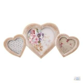Herz-Bilderrahmen-Collage für die Fotos Deiner Liebsten!
