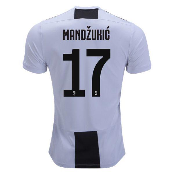 9c152cef0 Mario Mandzukic 17 Juventus 18 19 Home Soccer Jersey