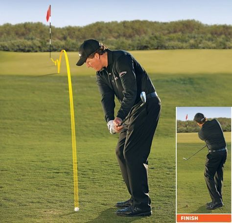 Phil Mickelson: How To Hit 2 Basic Pitches and Chips - Golf Digest