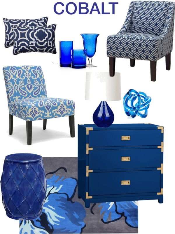 cobalt blue home decor - Home Decor Accents