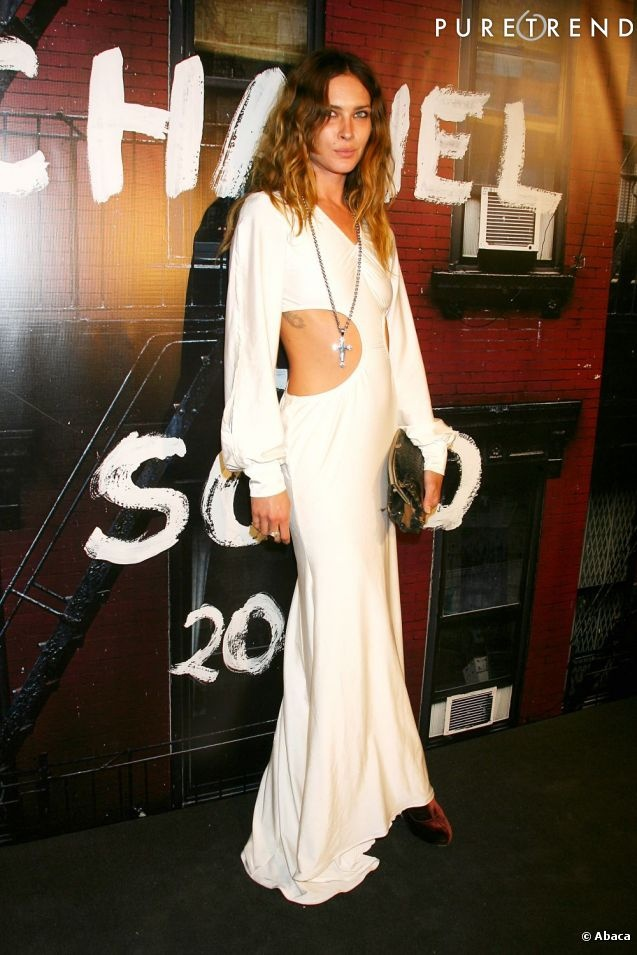 Erin Wasson. Eames Chair Inspiration like Tom Ford's Gucci's.