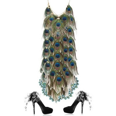 21 Best Images About Peacock Inspired Clothing