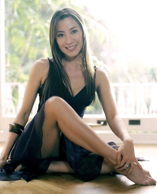 Michelle Yeoh - Malaysian actress best known for performing her own stunts in the Hong Kong action films