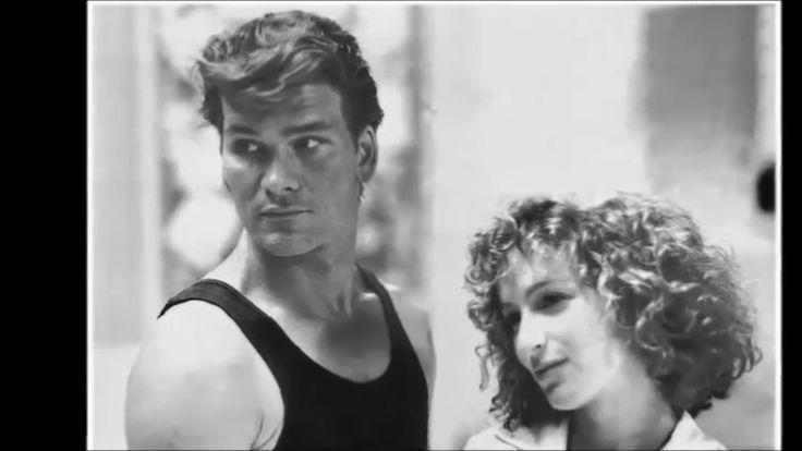 PATRICK SWAYZE AND JENNIFER GREY (DIRTY DANCING)