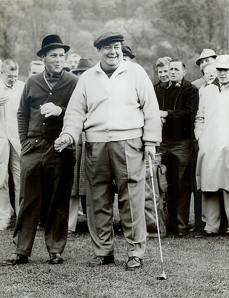 Jackie Gleason and Arnold Palmer, Jackie Gleason: The Last of Golf's Great Characters Photos | GOLF.com