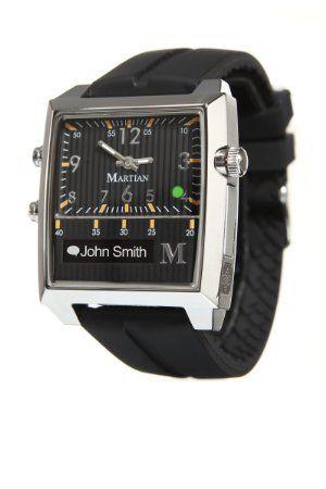 Amazon.com: Martian Watches Passport SmartWatch (Black/Silver/Black): Cell Phones & Accessories