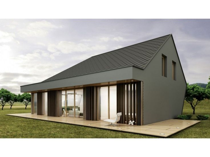 390 best images about energiesparh user on pinterest for Bungalow modern satteldach