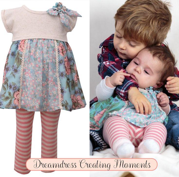 Legging Set für Babys von Bonnie Jean New York findest Du jetzt auf Dreamdress.at, #babymode, #babfashion, #littleFashionists, #Baby