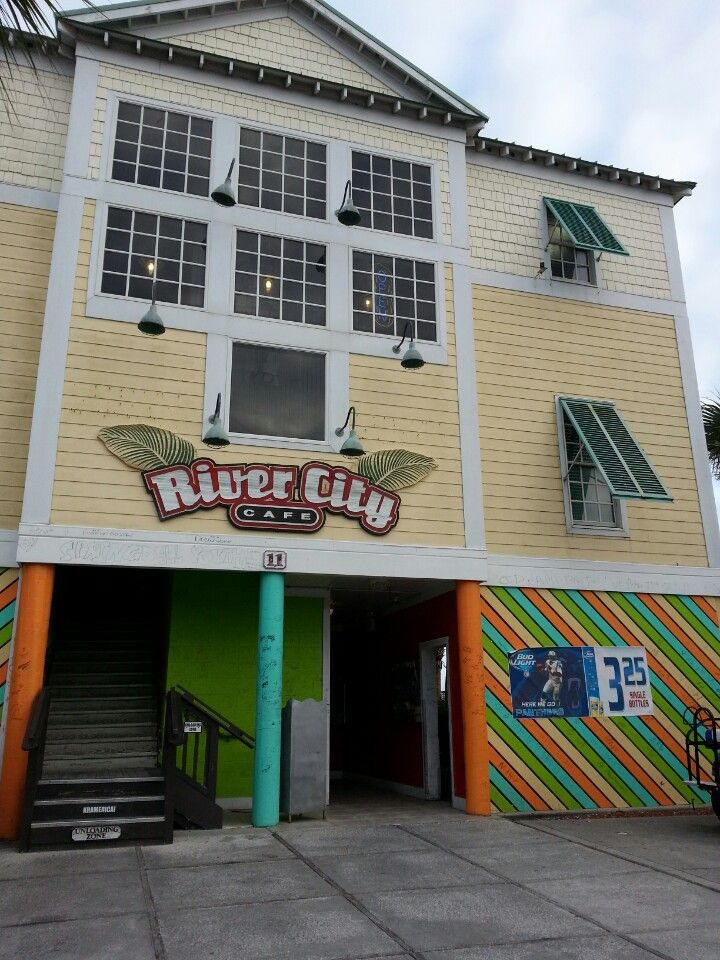 River City Cafe in Surfside Beach, SC...we have eaten there several times!