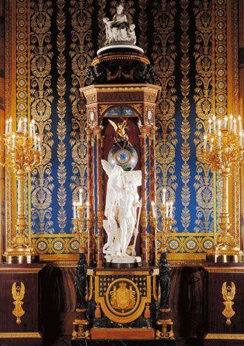 """Reloj """"El Tiempo"""", Palacio Real de Madrid"""