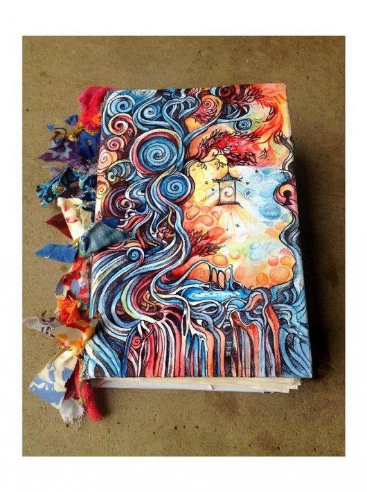 : Art Journals Covers, Dreams Journals, Idea, Sketchbooks Covers, Inspiration, Color, Doodles, Covers Art, Journals Art