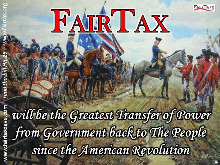 The FAIR TAX, when implemented, will be the Greatest Transfer of Power from the Federal Government back to the PEOPLE since the #American Revolution.  #fairtax