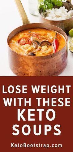 Recetas de sopa de ceto para mantenerse en cetosis para la dieta cetogénica. Sopa baja en carbohidratos …