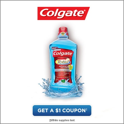 Get a 1 dollar coupon*                                                           *While supplies last.