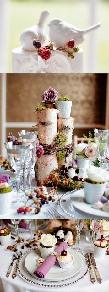 Woodland wedding theme