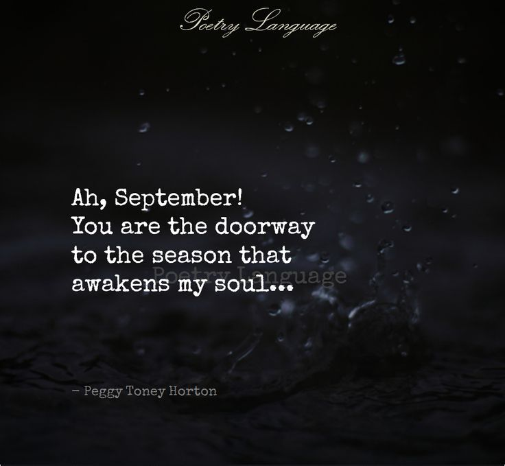 Ah, September...you so are. #fall #seasons #love