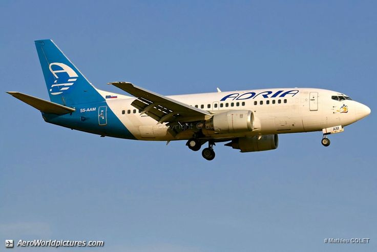 IMG_7766 Adria Airways Boeing 737-548 S5-AAM