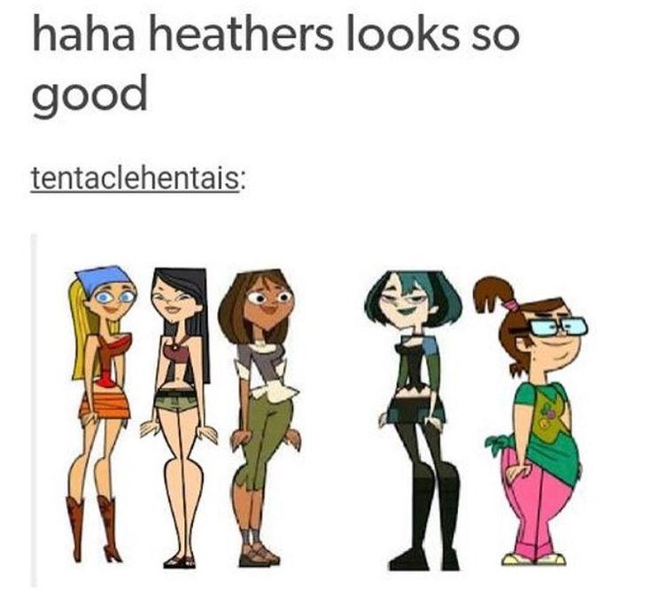 Heathers meets Total Drama Island