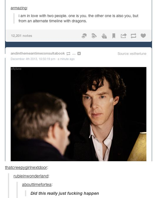 Ha. I love it when Tumblr does things.