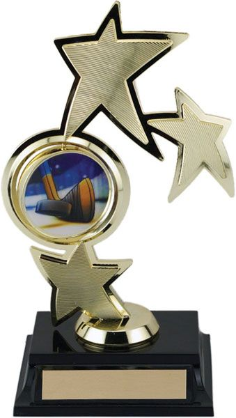 Spinning Sport Figure with Insert Holder (We can Create any sport or activity Insert for your award)
