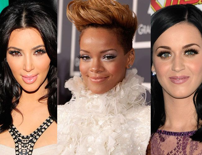 Stars like Katy Perry and Kim Kardashian have never been afraid to show off ridiculously long lashes, and we love it!