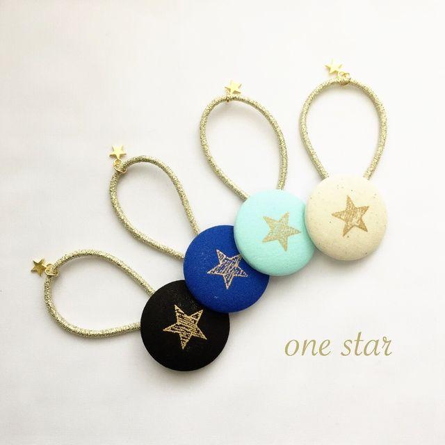 one star☆ヘアゴム