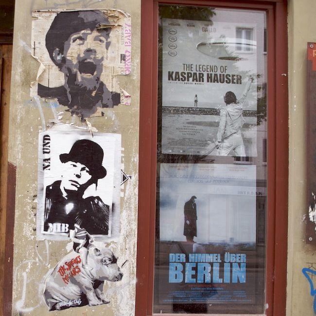 #kastanienallee #lichtblickkino #wimwenders #flyers #germanmovies #wheatpaste #streetart #berlin #tdckilas