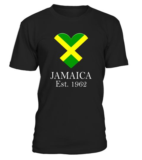 "# Jamaica Heart Flag 1962 - Caribbean Country Pride T-Shirt .  Special Offer, not available in shops      Comes in a variety of styles and colours      Buy yours now before it is too late!      Secured payment via Visa / Mastercard / Amex / PayPal      How to place an order            Choose the model from the drop-down menu      Click on ""Buy it now""      Choose the size and the quantity      Add your delivery address and bank details      And that's it!      Tags: A great Jamaican country…"