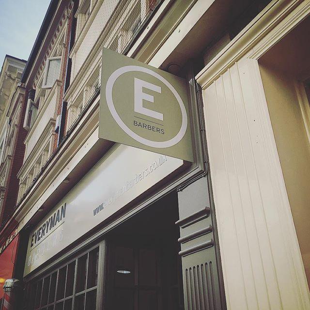 #newsign #everymanbarbers #birmingham #n1visual #branding #signs #barber #creative #design #england #graphics #illumated #installation #print #printing #rebrand #signmaker #uk #vinyl #vinylgraphics