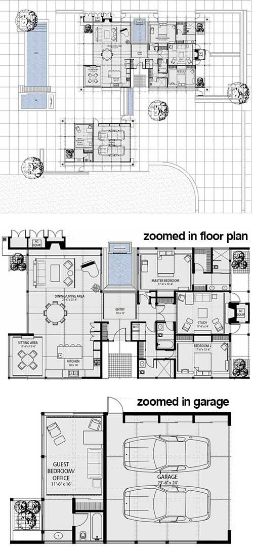 51 best images about architecture cliff may on pinterest for Cliff may floor plans
