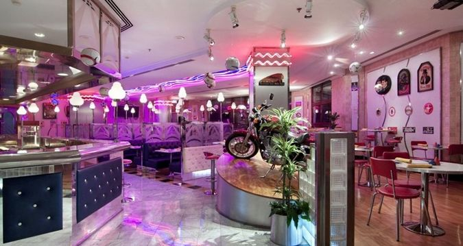 Jeddah Hilton hotel - Manhattan Sports Diner
