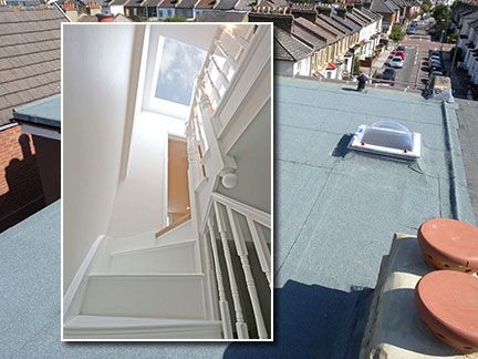 Victorian House Loft Conversion Dormer With Roof Light