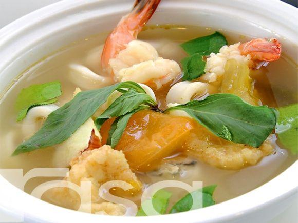 Tomyam Putih Makanan Laut - Resipi - Makanan Laut - Resipi - Rasa