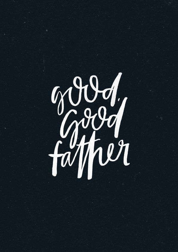Good, Good Father - original print from The Worship Project.* * *TWP Online Store // Instagram @the365worshipproject // Facebook