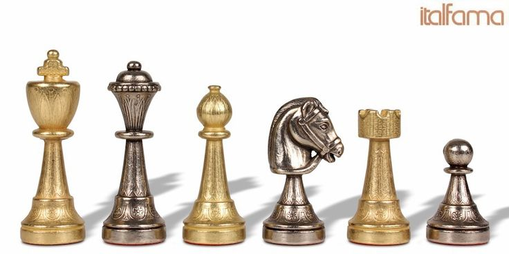 Staunton Metal Chess Set - The Chess Store ($150, +10% off coupon code online)