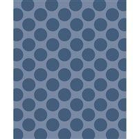 Steel Blue/Gray Polka Dot Printed Backdrop
