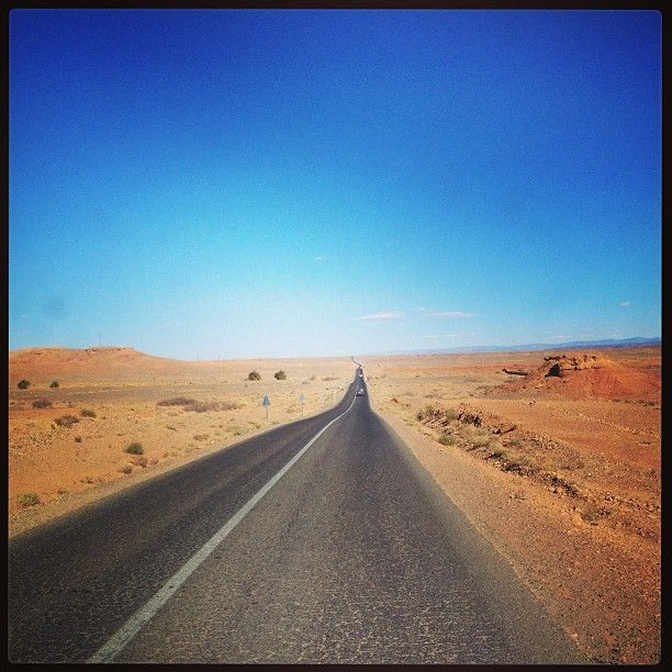 Morocco on the road